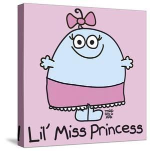 Lil Miss Princess by Todd Goldman