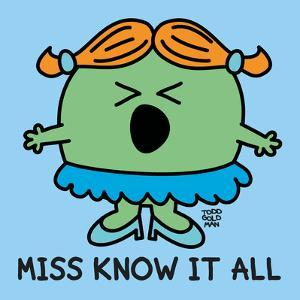 Miss Know It All by Todd Goldman