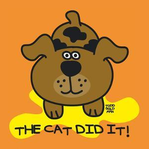 The Cat Did It by Todd Goldman