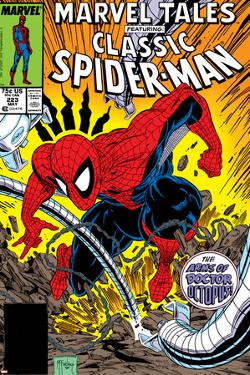 Marvel Tales: Spider-Man No.223 Cover: Spider-Man and Doctor Octopus Fighting by Todd McFarlane