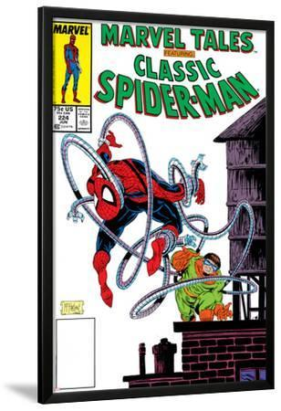 Marvel Tales: Spider-Man No.224 Cover: Spider-Man and Doctor Octopus Charging