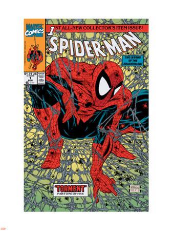 Spider-Man No.1 Cover: Spider-Man
