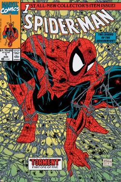 Spider-Man No.1 Cover: Spider-Man by Todd McFarlane
