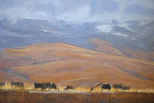 North Powder Cows by Todd Telander
