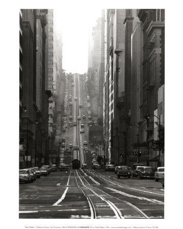 California Street, San Francisco, 1964