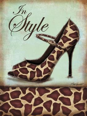 Giraffe Shoe by Todd Williams