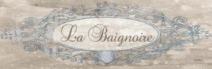 La Baignoire Sign - Mini by Todd Williams