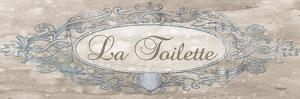 La Toilette Sign - Mini by Todd Williams