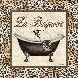 Leopard Bathtub by Todd Williams
