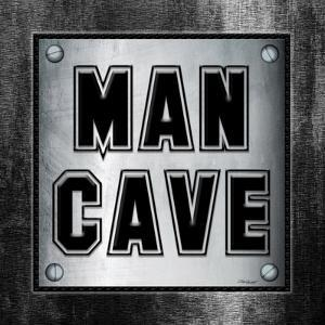 ManCave Metal Sq by Todd Williams