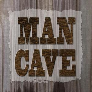 ManCave Wood Sq by Todd Williams