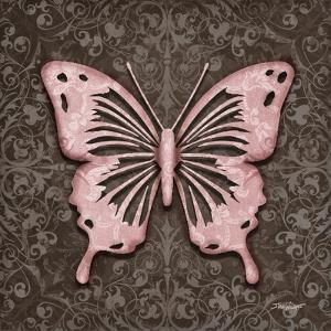 Pink Butterfly III by Todd Williams