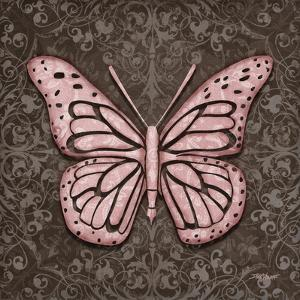 Pink Butterfly IV by Todd Williams