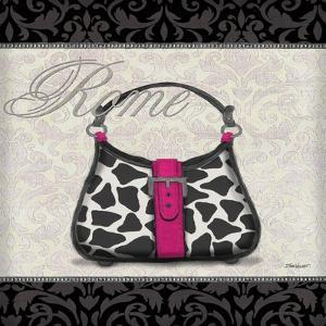 Pink Purse Square II by Todd Williams