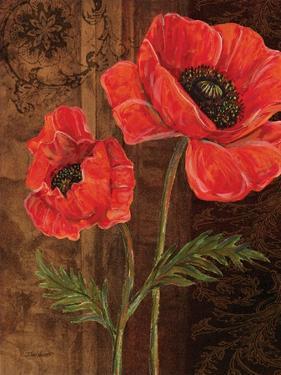 Poppy Portrait I by Todd Williams