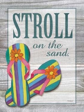 Stroll on the Sand by Todd Williams