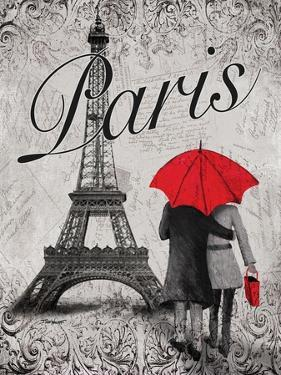 Strolling Paris I by Todd Williams