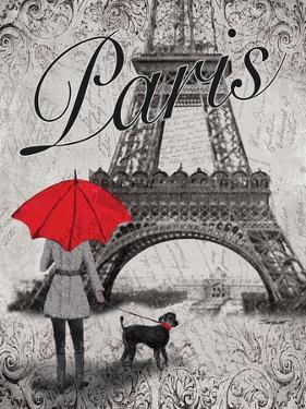 Strolling Paris II by Todd Williams