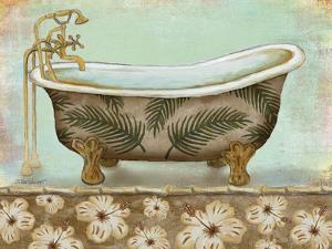 Tropical Bath I - Mini by Todd Williams