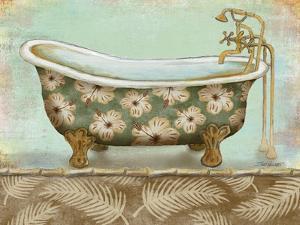 Tropical Bath II - Mini by Todd Williams
