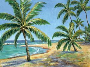 Tropical Beach - Mini by Todd Williams