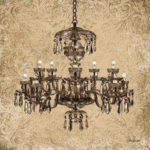Vintage Chandelier II by Todd Williams