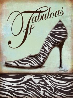 Zebra Shoe by Todd Williams