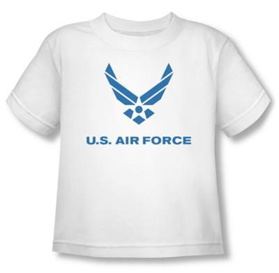 Toddler: Air Force - Distressed Logo