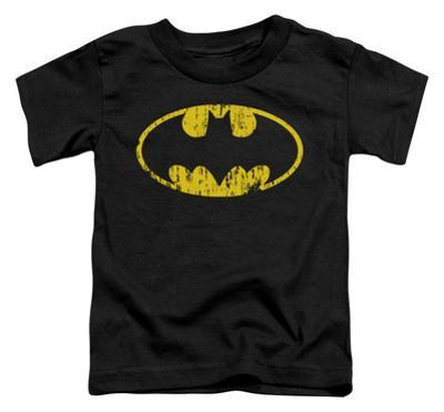 Toddler: Batman - Classic Logo Distressed