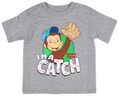 Toddler: Curious George- I'm A Catch