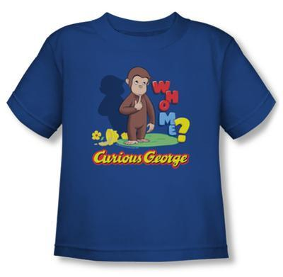 Toddler: Curious George - Who Me