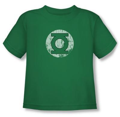 Toddler: Green Lantern - Distressed Lantern Logo