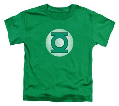 Toddler: Green Lantern - GL Logo Distressed
