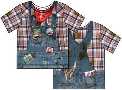 Toddler: Hillbilly Costume Tee