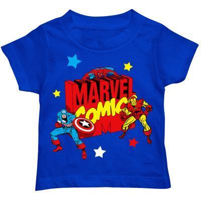 Toddler: Marvel - Blocky Marvel Logo