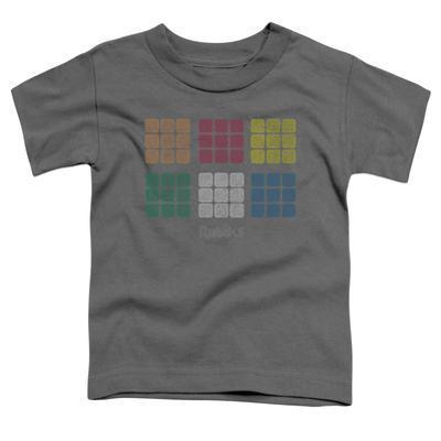 Toddler: Rubik's Cube- Minimal Squares