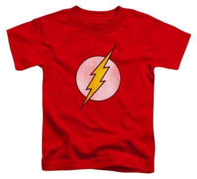 Toddler: The Flash - Flash Logo Distressed