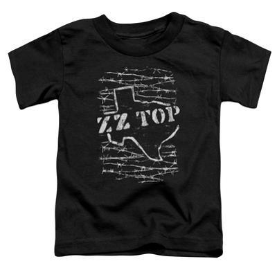 Toddler: ZZ Top- Distressed Barbed Texas