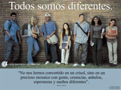 Todos Somos Diferentes- We're All Different
