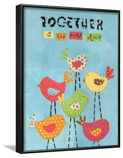 Together Birds-Alli Rogosich-Framed Art Print