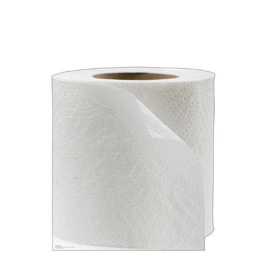 Toilet Paper Roll Standee 45 Inches