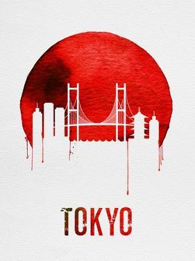Tokyo Skyline Red