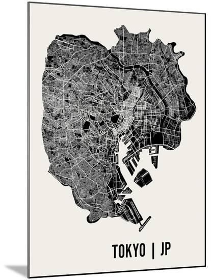 Tokyo-Mr City Printing-Mounted Print