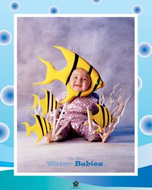 Baby Yellow Fish by Tom Arma
