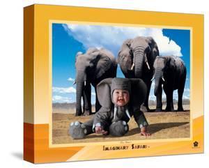 Imaginary Safari, Elephant by Tom Arma