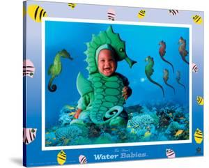 Water Babies, Seahorse by Tom Arma