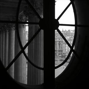 From a Window of the Louvre by Tom Artin