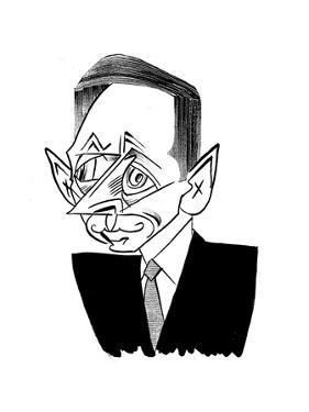 David Petraeus - New Yorker Cartoon by Tom Bachtell