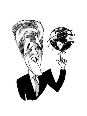 John Kerry Earth Day - Cartoon by Tom Bachtell