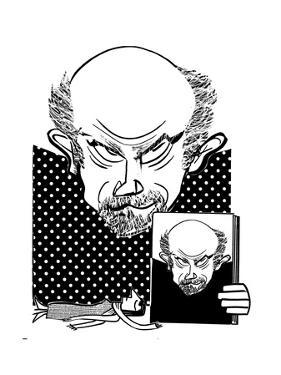 John Malkovich - Cartoon by Tom Bachtell